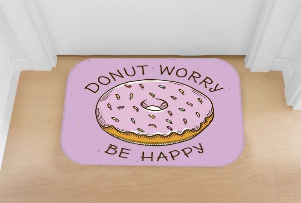 Tapete decorativo Donut Worry
