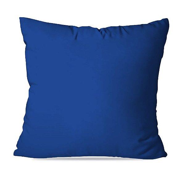 Almofadas Lisas Azuis