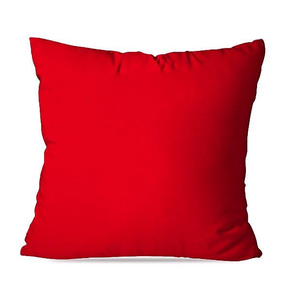 Almofadas Lisas Vermelhas