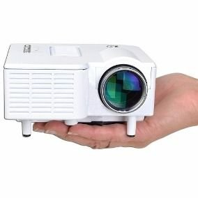 Mini Projetor Led Portatíl Usb - Micro SD - Hdmi. 60 Polegadas