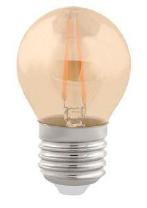 Lampada LED Bolinha 4W Vintage Carbon Branco Quente