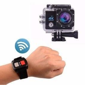 Câmera 4k Action Pro Sports 1080p Wifi Ultra Hd + Controle