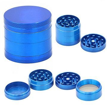 Triturador de Metal Azul
