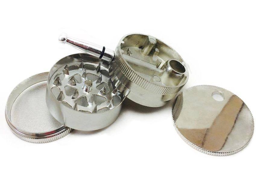 Pipe e Triturador de Metal Liso
