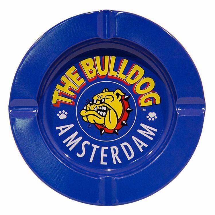Cinzeiro de Metal Azul The Bulldog