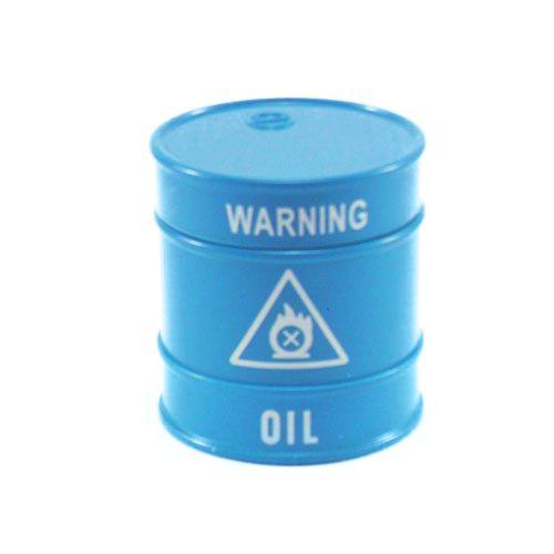Triturador de Metal Oil Azul