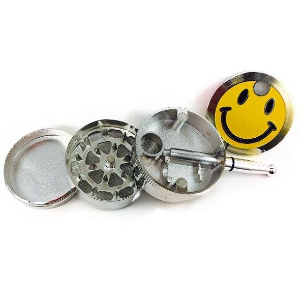 Pipe e Triturador de Metal Quality Smile