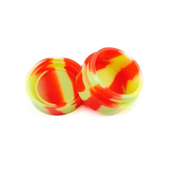 Silicone Oil Slick Amarelo e Vermelho