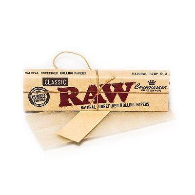 Seda King Size Classic com Piteira RAW