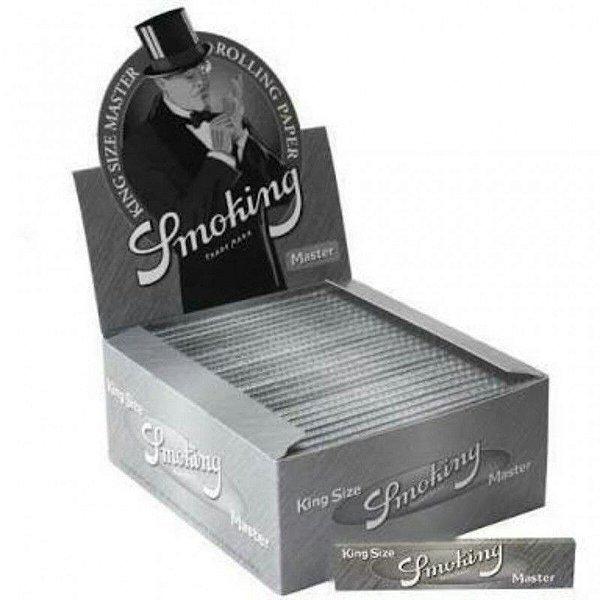 Caixa de Seda Slim Silver Smoking