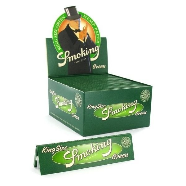 Caixa de Seda King Size Green Smoking