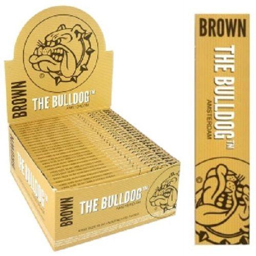 Caixa de Seda Brown Slim King Size The Bulldog