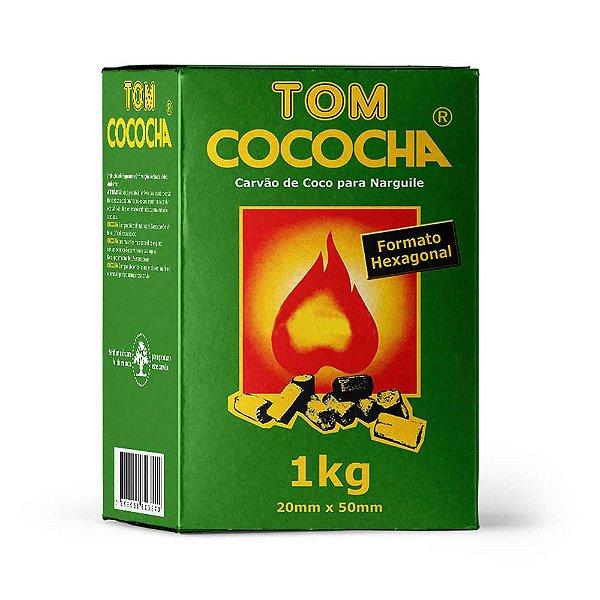 Carvão Hexagonal 1kg Tom Cococha