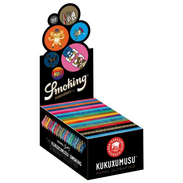 Caixa de Seda 1/4 Kukuxumusu Smoking