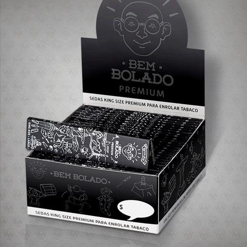 Caixa de Seda King Size Premium Bem Bolado