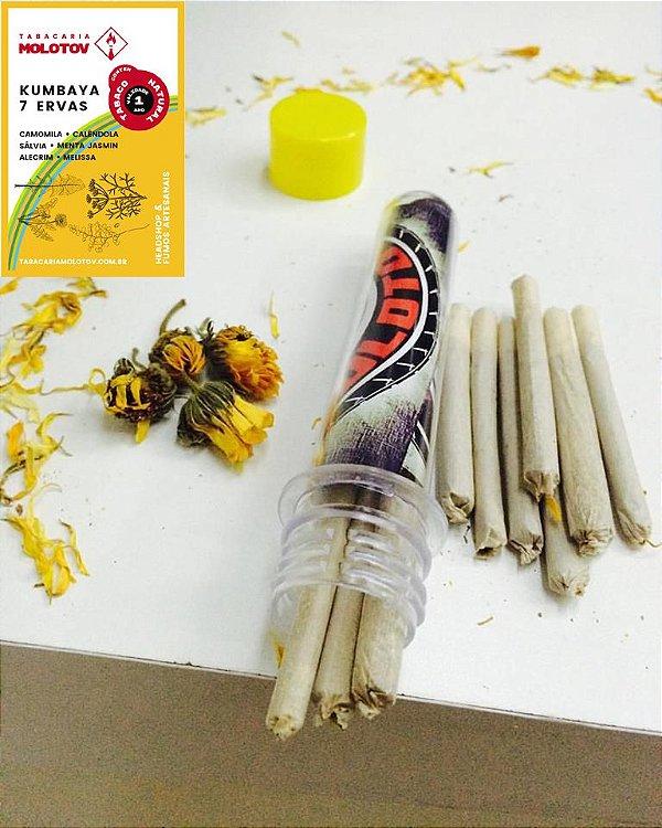 Kumbaya 7 Ervas com Tabaco Enrolado MOLOTOV