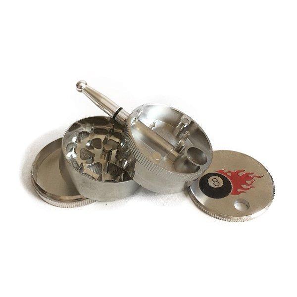 Pipe e Triturador de Metal Bola 8