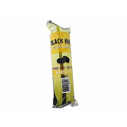 Carvão Vegetal de Bamboo Pastilha Black King