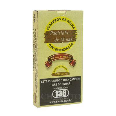 Cigarro de Palha Paeirinho de Minas
