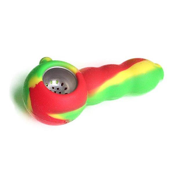 Pipe de Silicone Buble Reggae