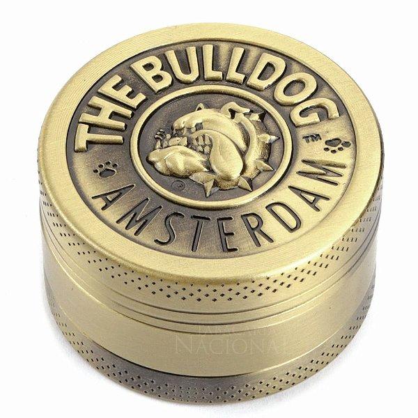 Triturador de Metal Ouro The Bulldog Amsterdam