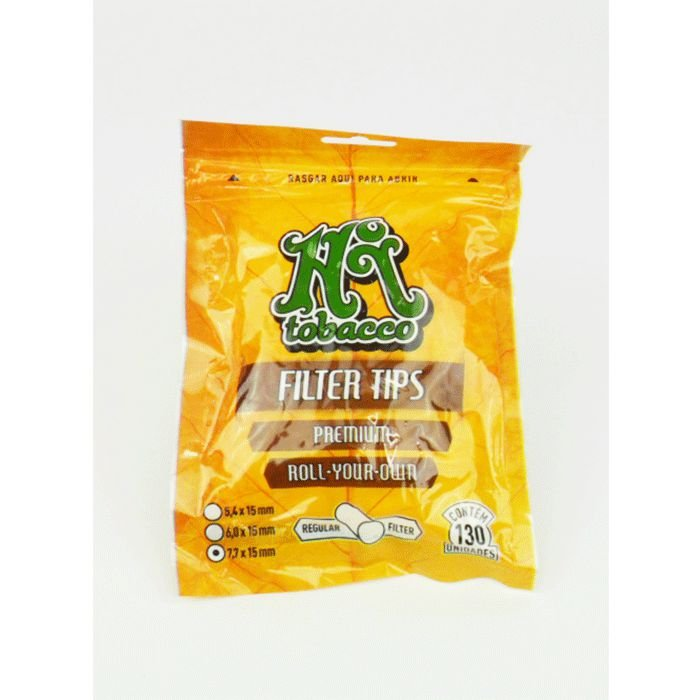 Filtro de Algodão 7,7 x 15 mm Hi Tobacco