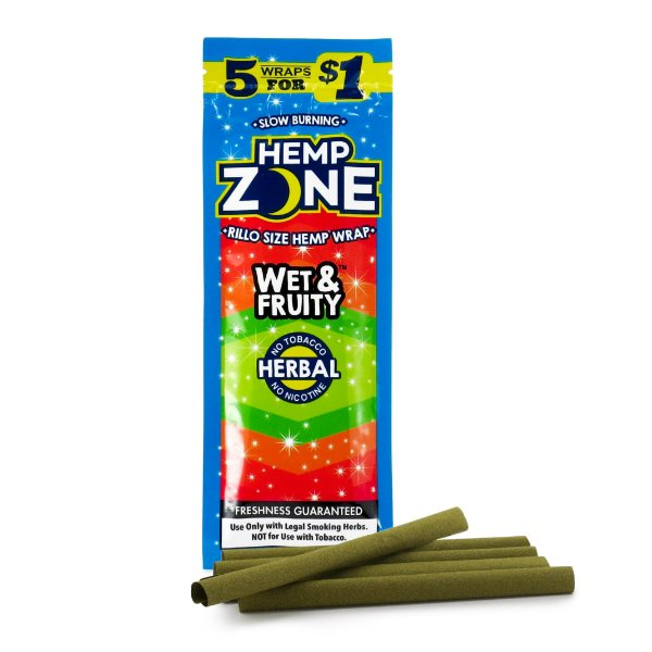 Blunt de Wet Fruit 5 un. Hemp Zone