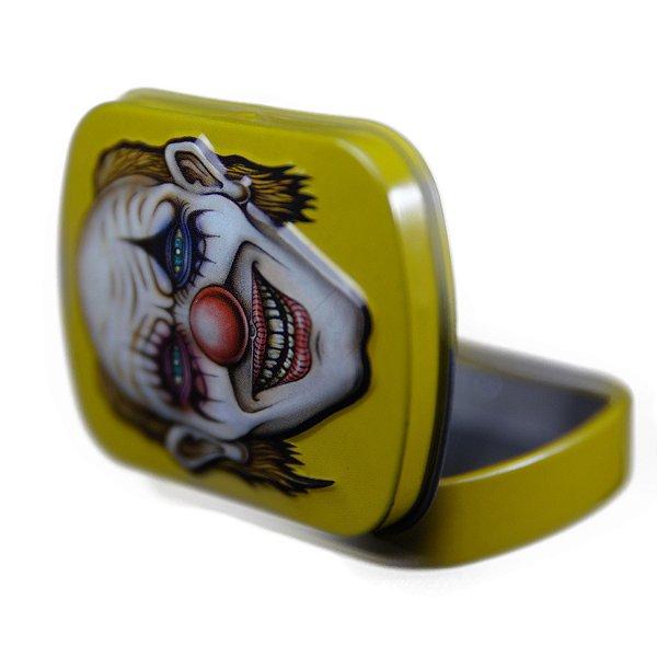 Pote de Metal Amarelo Lion Rolling Circus
