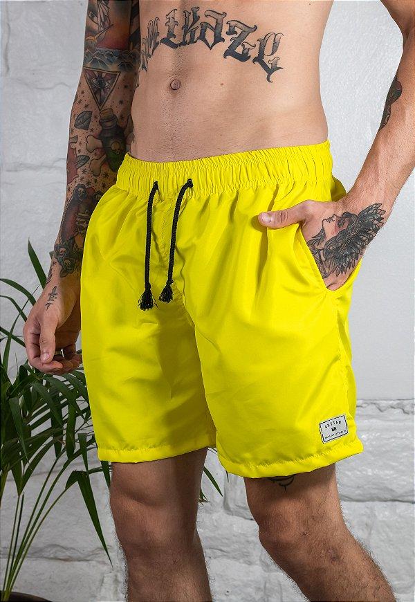 Beach Short Amarelo Neon