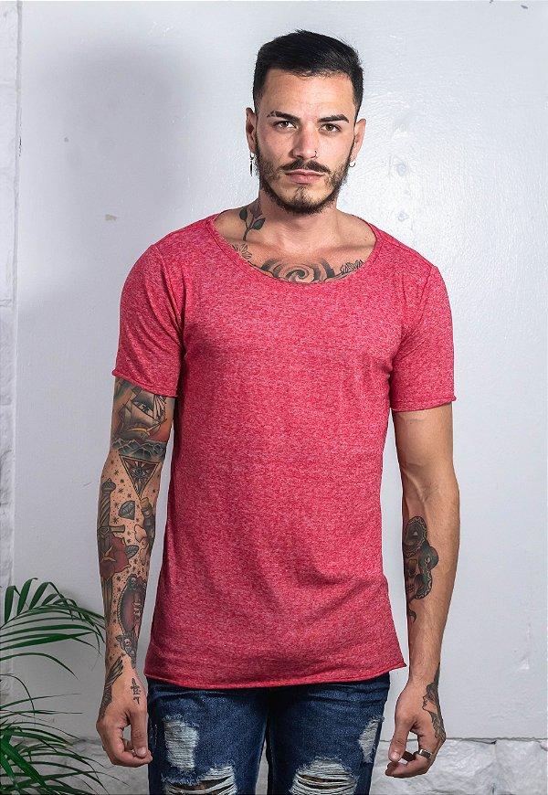 Camiseta Canoa Nature Vermelha