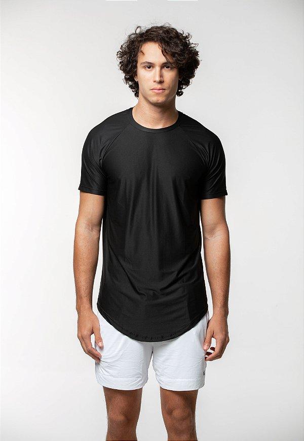 Camiseta Training Raglan Preta