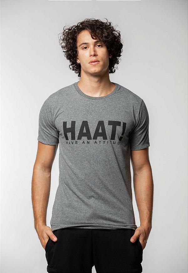 Camiseta Tradicional Mescla Dark HAAT
