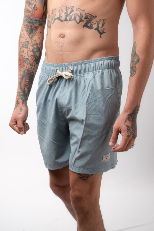 Beach Short Prime Silver Blue