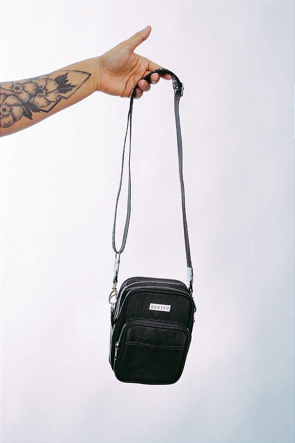 Shoulder Bag Nylon All Black