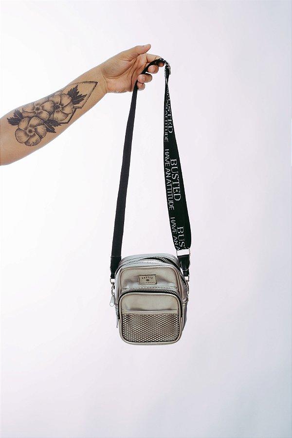 Shoulder Bag Cromo Prata