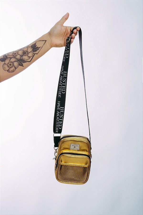 Shoulder Bag Cromo Dourado