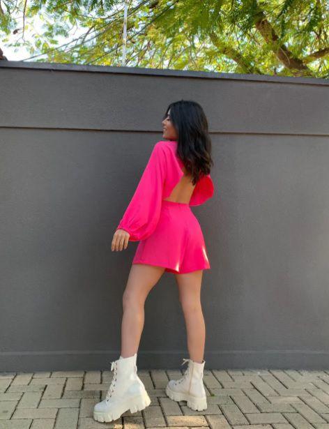Macaquinho Pink Atenas