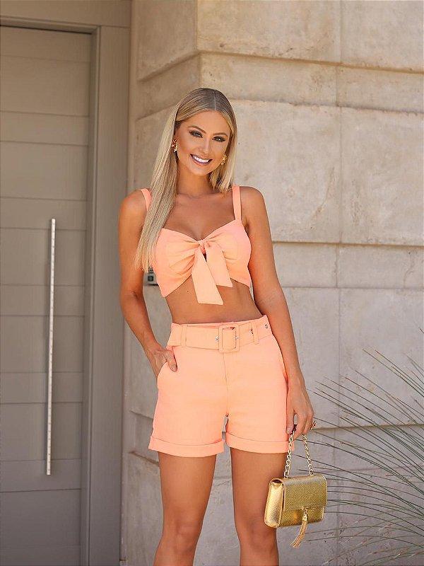 Conjunto Neon Orange