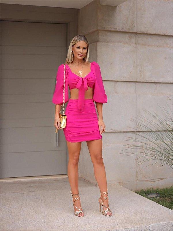 Conjunto Essense Pink