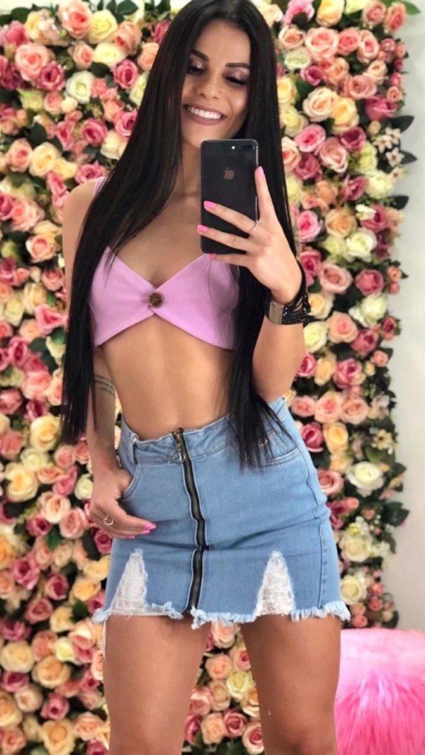 Cropped Lilas