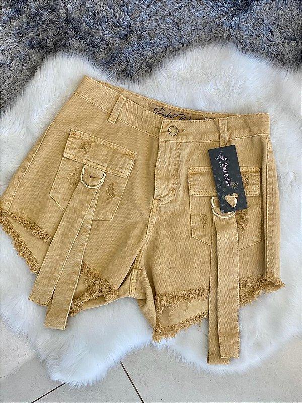 Short Jeans Mostarda PW