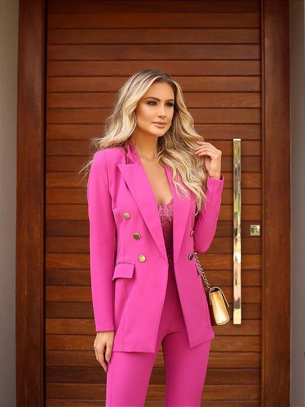 Blazer Unique Pink