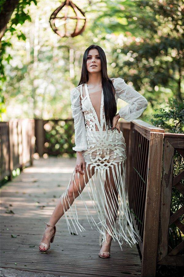 Vestido Paula Branco Mondabelle