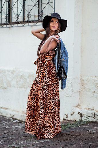 Vestido Jaguar Longo