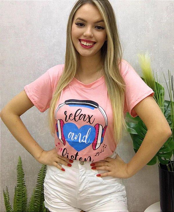 T-shirt Relax Rosê