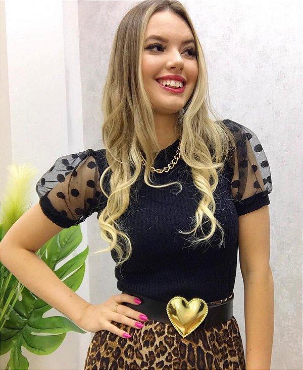 Blusa Monique Preta
