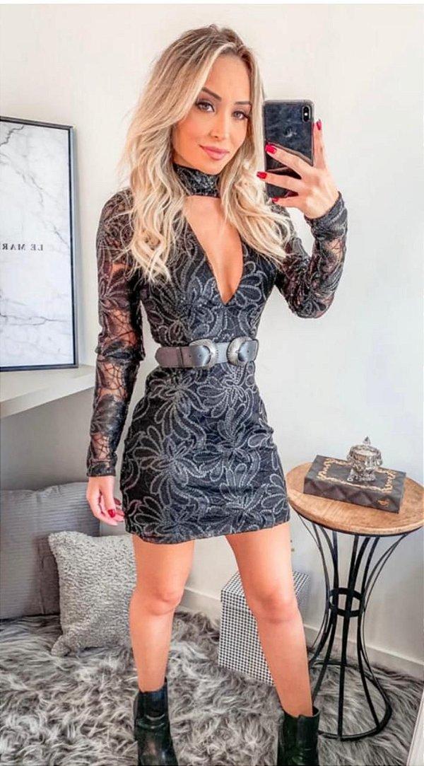 Vestido Paetê Blitz