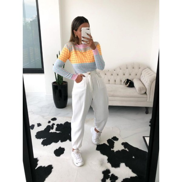 Blusa Pied Colorida