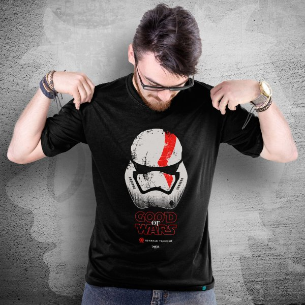 CAMISETA GOD OF WAR | GOOD OF WARS | MASCULINA