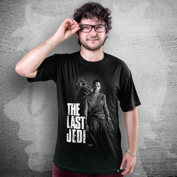 CAMISETA STAR WARS | THE LAST JEDI | MASCULINA